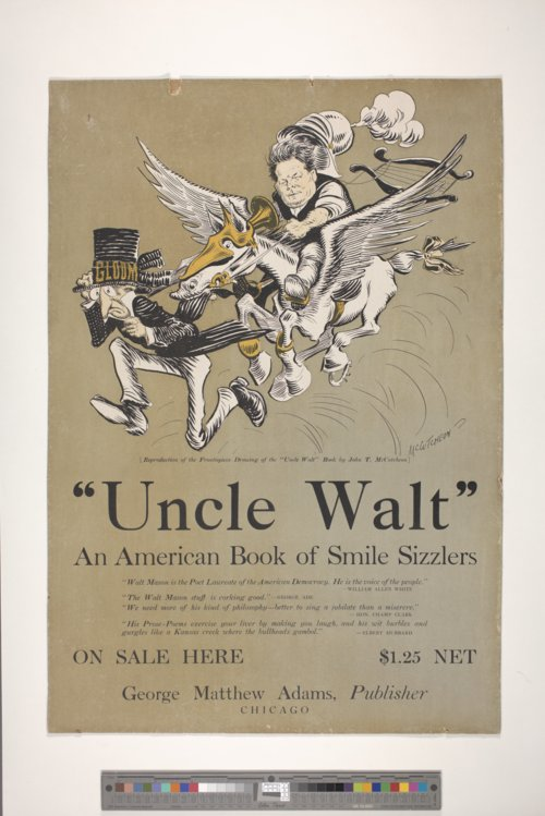 Walt Mason Poster - Page