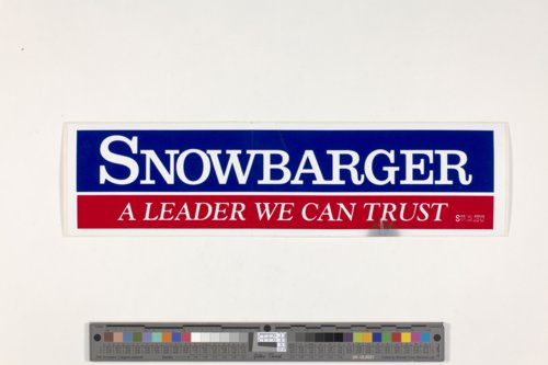 Political bumper sticker - Page