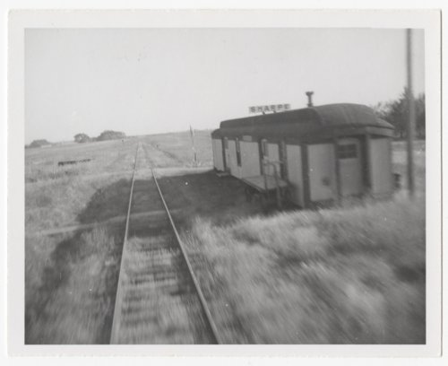 Atchison, Topeka and Santa Fe Railway Company depot, Sharpe, Kansas - Page