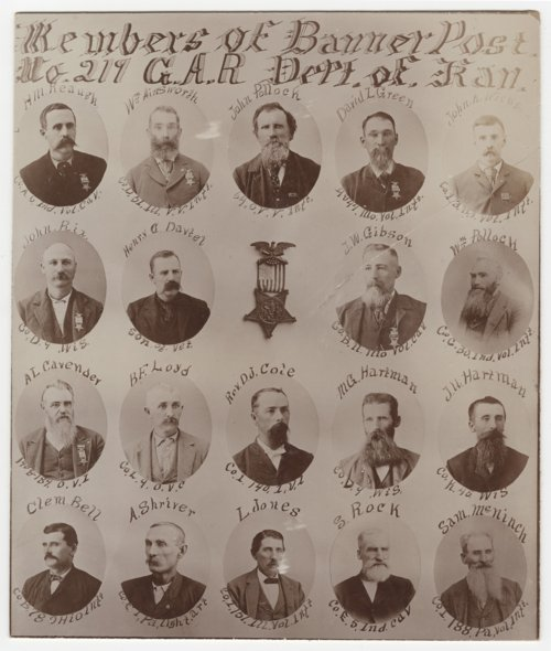 Grand Army of the Republic, Banner City, Kansas - Page