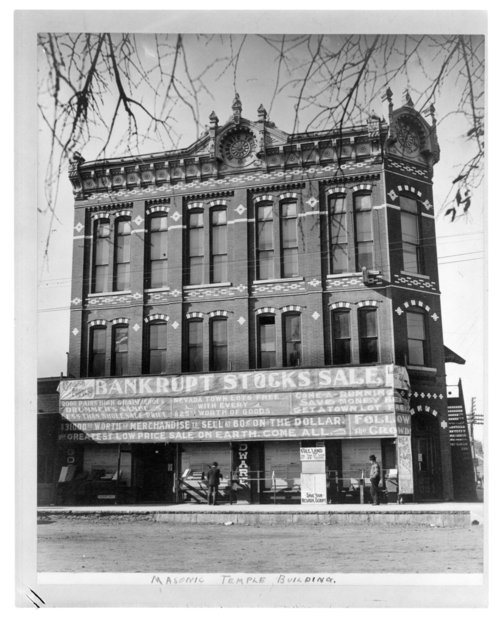 Masonic Temple Building, Larned, Kansas - Page