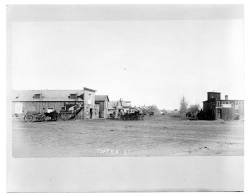 Topeka Street in Larned, Kansas - Page