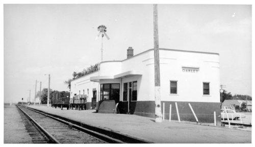 Union Pacific Railroad Company depot, Oakley, Kansas - Page