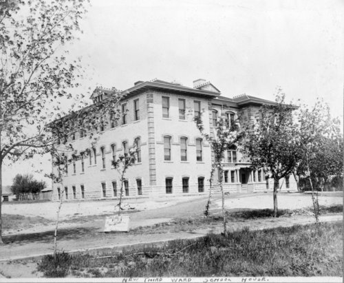Third Ward School in Larned, Kansas - Page