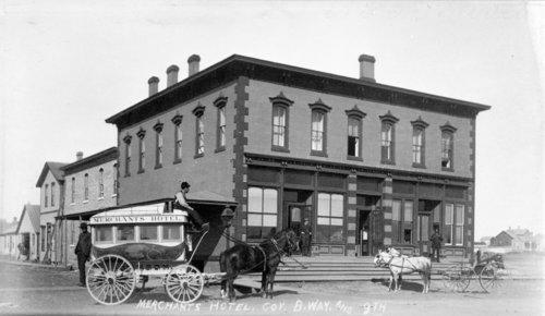 Merchants Hotel, Larned, Kansas - Page