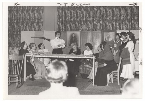 Women performing Centennial Opera in Larned, Kansas - Page