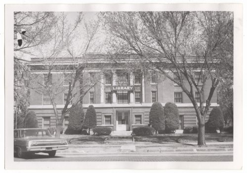 Cummins Memorial Library, Larned, Kansas - Page
