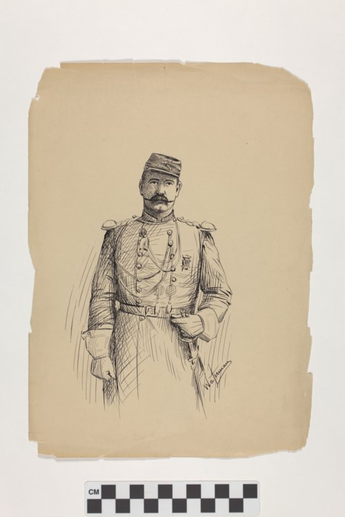 Myron A. Waterman drawing - Page