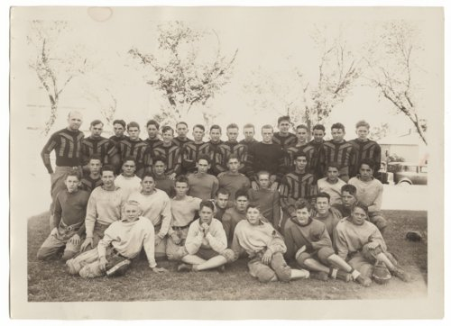 Larned High School football team in Larned, Kansas - Page