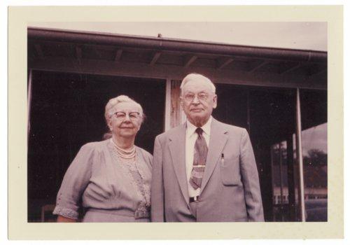 Reverend Adolf Grandin and Amy O. Malmborg Grandin - Page