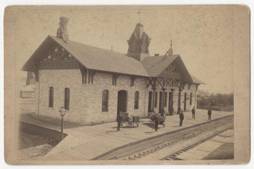 Union Pacific Railroad Company depot, Wakeeney, Kansas - Page