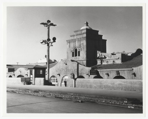 Atchison, Topeka and Santa Fe Railway Company depot, Albuquerque, New Mexico - Page