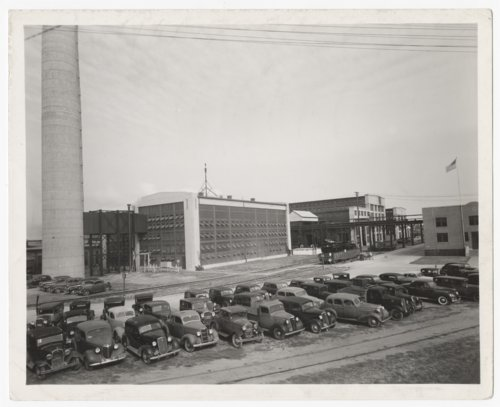 Atchison, Topeka & Santa Fe Railway Company's power house and locomotive shops, Cleburne, Texas - Page
