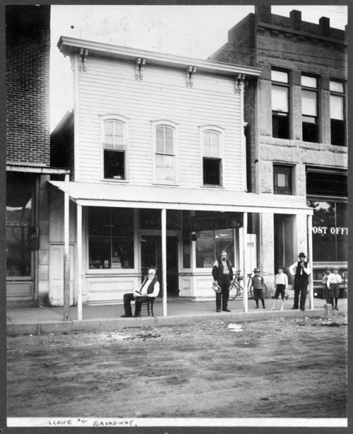 Businesses on Broadway Street in Larned, Kansas - Page