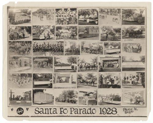 Atchison, Topeka & Santa Fe Railway parade in Topeka, Kansas - Page