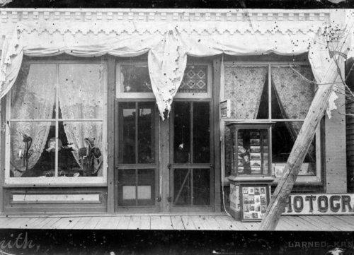 Photograph Gallery and Millinery Shop, Larned, Kansas - Page