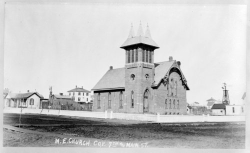 Methodist Episcopal Church, Larned, Kansas - Page