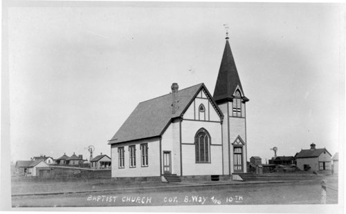 Baptist Church in Larned, Kansas - Page