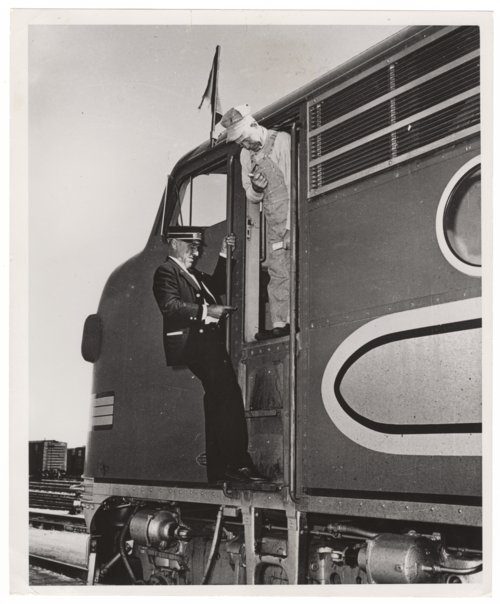 Atchison, Topeka & Santa Fe Railway conductor and engineer - Page