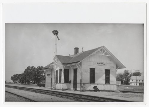 Union Pacific Railroad Company depot, Winona, Kansas - Page