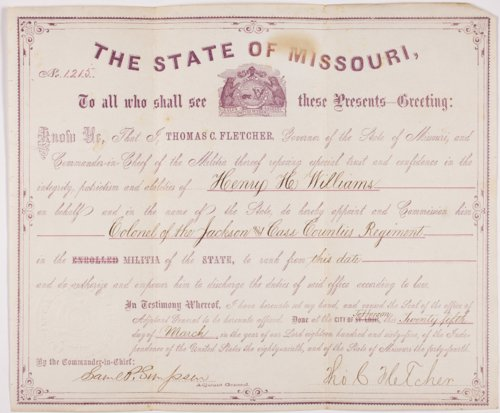 Henry Hudson Williams Civil War collection - Page
