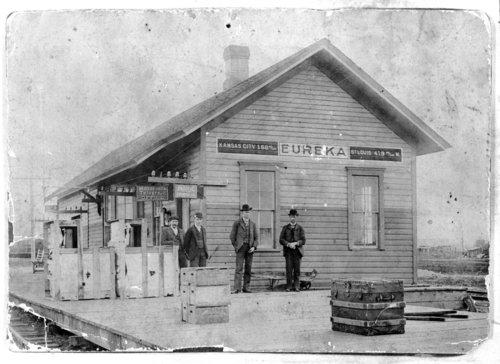 Missouri Pacific Railroad depot, Eureka, Kansas - Page