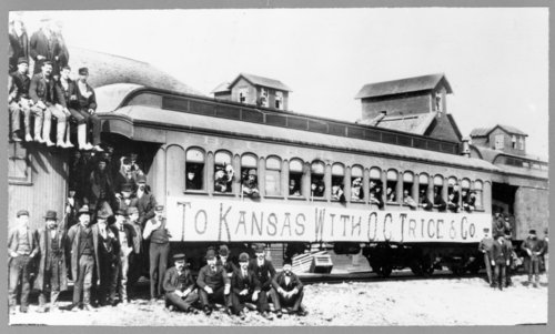 Illinois emigrants, Benton, Kansas - Page