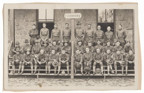 Company F, 89th Division at Camp Funston, Kansas - Page