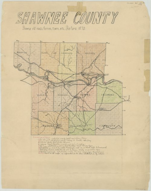 Map of Shawnee County - Page