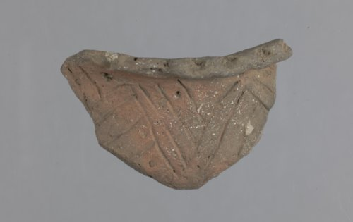 Rim Sherd from the Leary Site - Page