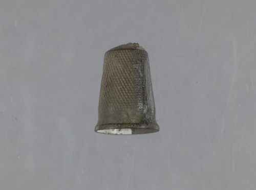 Thimble from the Fanning Site, 14DP1 - Page