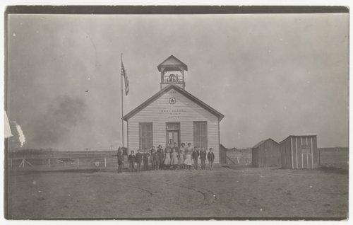 First Bohemian school, Wilson, Kansas - Page