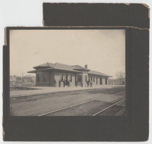 Atchison, Topeka & Santa Fe Railway Company depot, Peabody,Kansas - Page