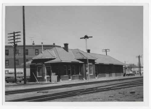 Atchison Topeka and Santa Fe Railroad Depot in Larned, Kansas - Page