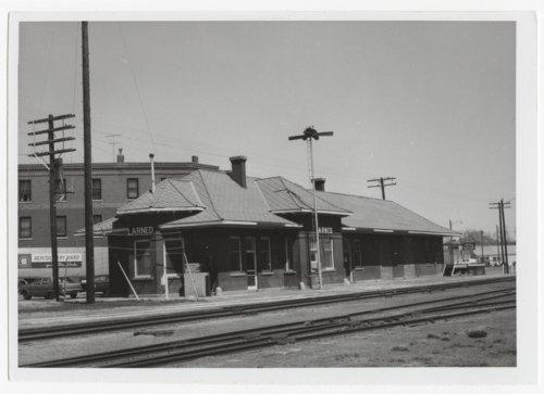 Atchison Topeka and Santa Fe Railway Company depot, Larned, Kansas - Page
