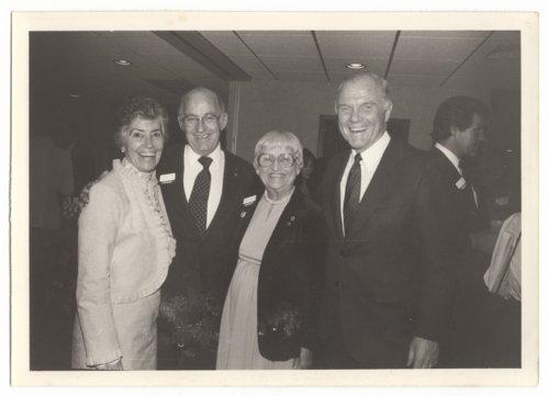Annie Glenn, Jack Carlin, Hazel Carlin, and John Glenn in Topeka, Kansas - Page