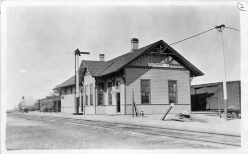 Union Pacific Railroad Company depot, Oakley, Kansas - Page
