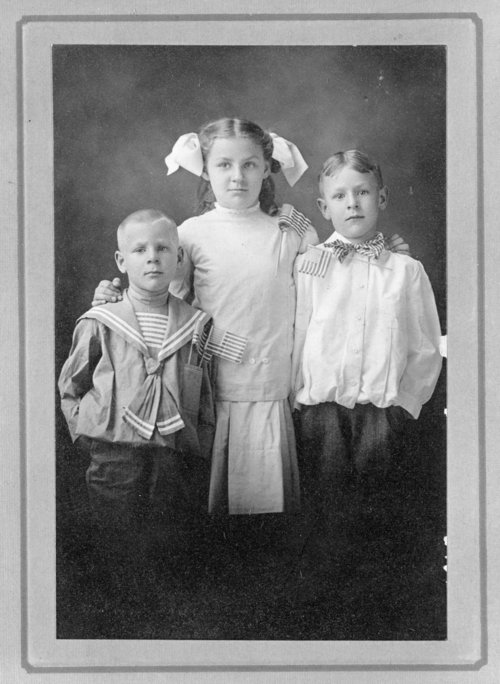 Orphan train riders Howard, Clara and James Reed - Page