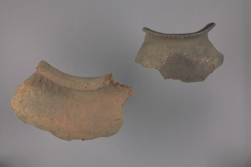 Ceramic Pot Sherds from the Collins Site, Doniphan County - Page