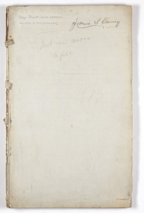 Day book of James Stanley Emery - Page