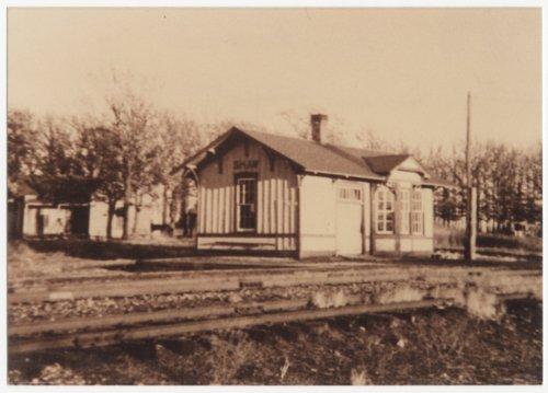 Railroad depot, Shaw, Kansas - Page