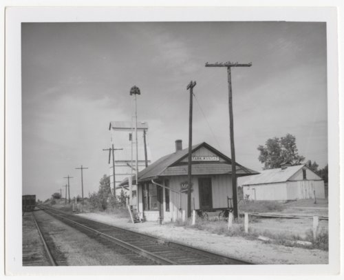 Missouri- Kansas-Texas Railroad depot, Stark, Kansas - Page