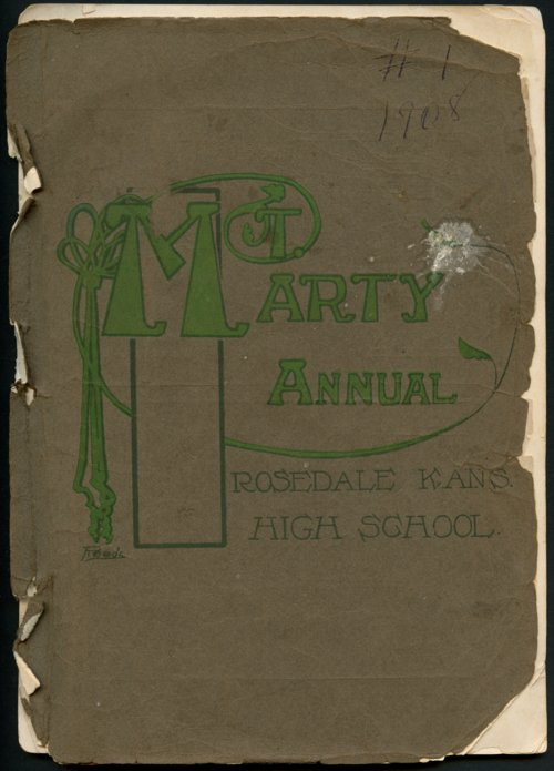 Mount Marty yearbook, 1908, Rosedale, Kansas - Page