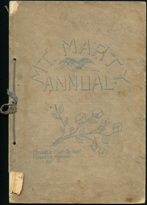 Mount Marty Annual, 1914, Rosedale, Kansas - Page