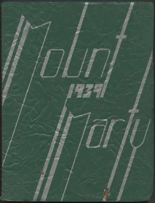 Mount Marty yearbook, 1939, Rosedale, Kansas - Page