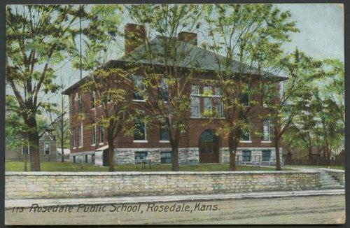 Rosedale Public School, Rosedale, Kansas - Page