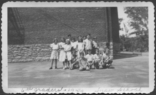 Snow School 6th Grade, Rosedale, Kansas - Page