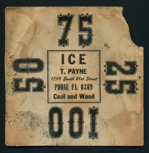 Ice weight card - Page