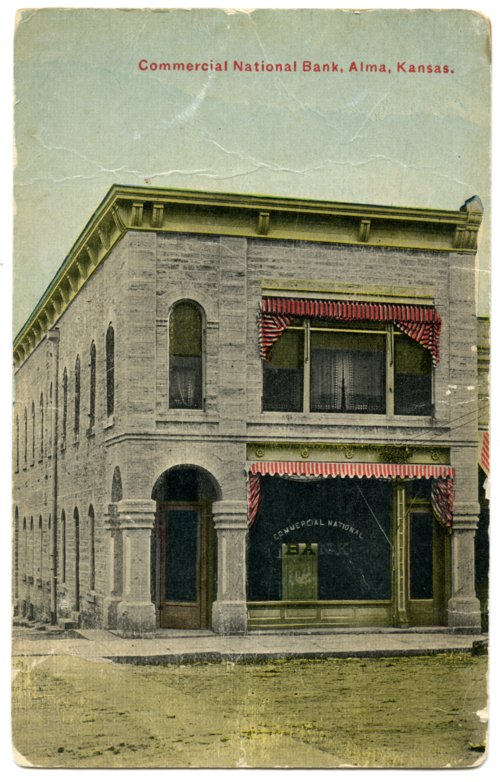 Commercial National Bank, Alma, Kansas - Page