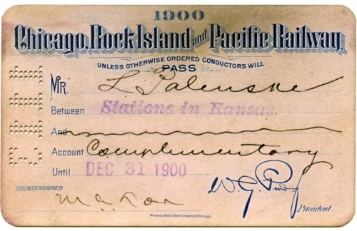 Chicago, Rock Island and Pacific Railway pass - Page